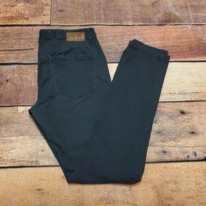 Converse One Star Skinny Jeans Size 8 | Dark Gray